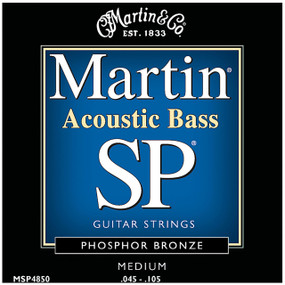 Martin MSP4850 SP Phosphor Bronze Medium Acoustic Bass Strings