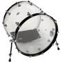KickPro KPBDP17B Weighted Bass Drum Pillow, Black