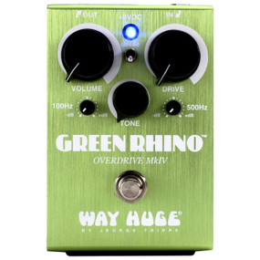 Way Huge WHE207 Green Rhino Overdrive MKIV Guitar Effects Pedal