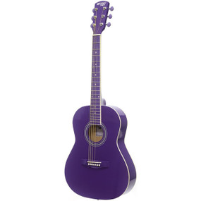 "Darling Divas DDPKG02PU 36"" Steel String Acoustic Guitar Pack, Purple Haze"