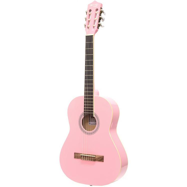 "Darling Divas DDPKG03PK 36"" Nylon String Acoustic Guitar Pack, Cotton Candy Pink"