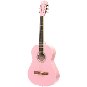 "Darling Divas DDPKG03PK 36"" Nylon String Acoustic Guitar Pack, Cotton Candy Pink"