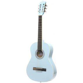 """Darling Divas DDPKG03BL 36"""" Nylon String Acoustic Guitar Pack, Powder Blue"""