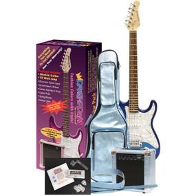 Darling Divas DD950MB Electric Guitar Pack, Mystical Blue