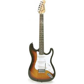 Crestwood ST920TS Strat Style Electric Guitar, Tobacco Sunburst