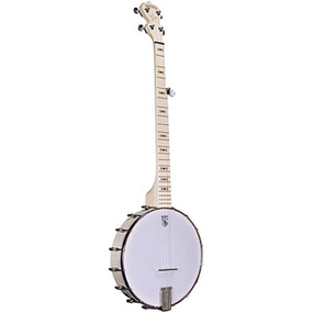 Deering Goodtime Left-Handed Openback 5-String Bluegrass Banjo, Natural Blonde Maple