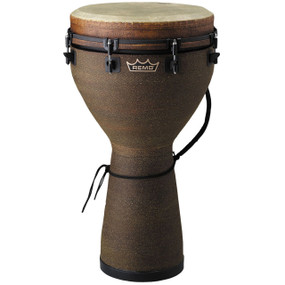 "Remo DJ-0014-05 Mondo Designer Series Key-Tuned 14"" x 25"" Djembe with Earth Finish"