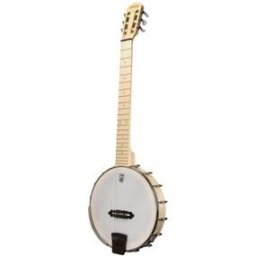 Deering Goodtime Solana 6 Nylon 6-String Acoustic-Electric Banjo
