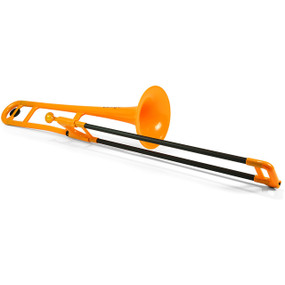 Jiggs pBone PBONE1OR Plastic Trombone, Orange