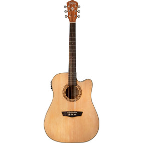 Washburn WD7SCE Dreadnought Cutaway Acoustic-Electric Guitar