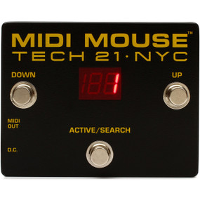 Tech 21 MIDI Mouse Foot Controller, MM1