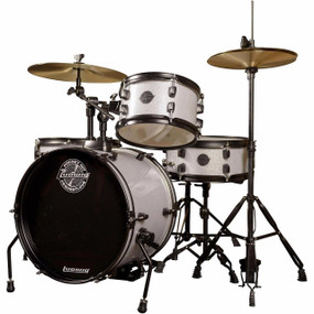 Ludwig LC178X029 Questlove Pocket Kit 4-Piece Junior Drum Set, Silver Sparkle