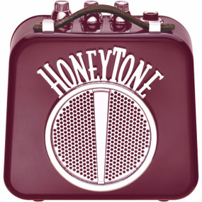 Danelectro HoneyTone N10 Mini Guitar Amplifier, Burgundy