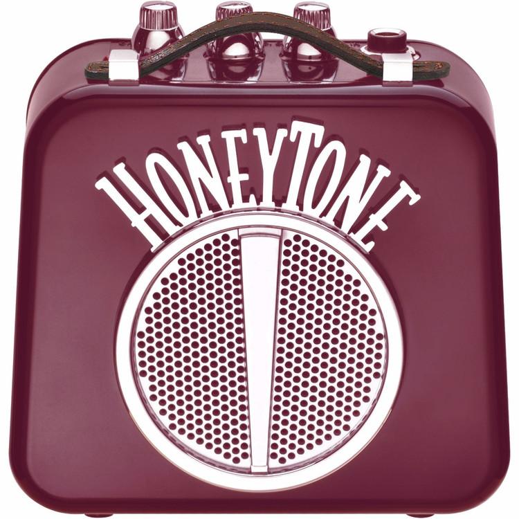 Danelectro HoneyTone N-10 Mini Guitar Amplifier, Burgundy