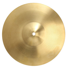 "GP Percussion C212 Brass Cymbal, 12"" Inch"