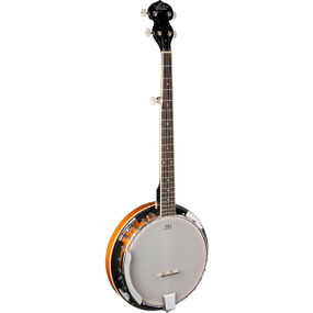 Oscar Schmidt OB4 5-String Resonator Banjo, Gloss Finish