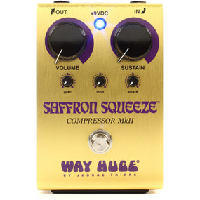 Way Huge WHE103 Saffron Squeeze Compressor Guitar Effects Pedal