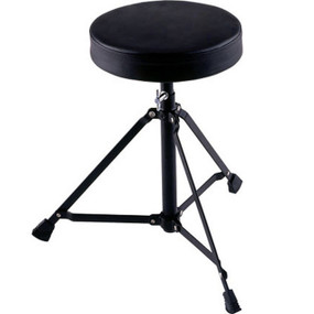 Ludwig L247TH Lightweight Drum Throne with Padded Seat, Adjustable Height