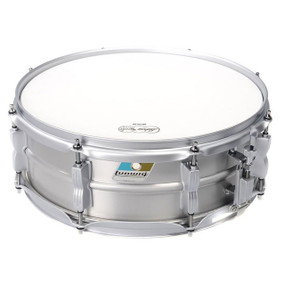 "Ludwig LM404LTD Limited Edition Acrolite 5"" x 14"" Snare Drum, Brushed Aluminum"