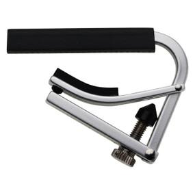 Shubb L2 Lite Capo for Nylon String Acoustic Guitars, Silver