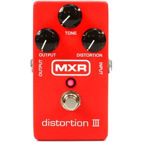 MXR M115 Distortion III - Guitar Effects Distortion Pedal