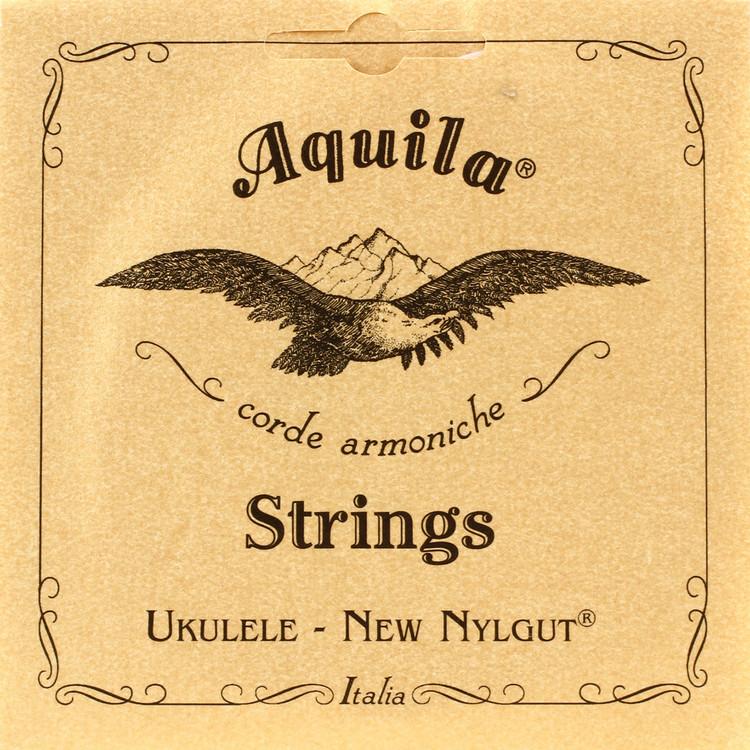 Aquila 4U New Nylgut Soprano Ukulele Strings, High G