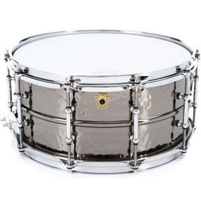 "Ludwig LB417KTWM Black Beauty 6.5""x14"" Snare Drum - Black Nickel Finish"