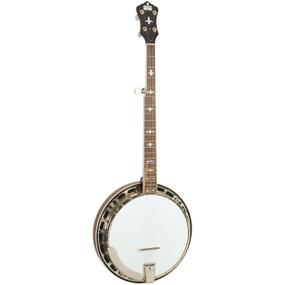 Recording King RK-R36-BR Madison 5-String Resonator Banjo with Tone Ring, Mahogany