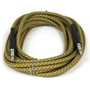 ZoZo Vintage Tweed 20' ft Guitar Cable - Heavy Duty Instrument Cord