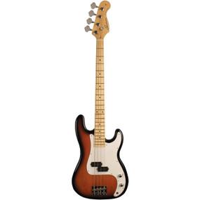 Sundown SD-300TB 4-String Electric Bass Guitar, Tobacco Burst