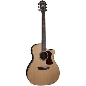 Washburn HG26SCE Heritage Grand Auditorium Acoustic Electric Guitar (HG26SCE)