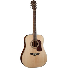 Washburn HD10S Heritage Series Dreadnought 6-String Acoustic Guitar, Natural