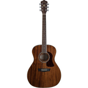 Washburn Heritage HG12S Solid Mahogany Top Grand Auditorium Acoustic Guitar