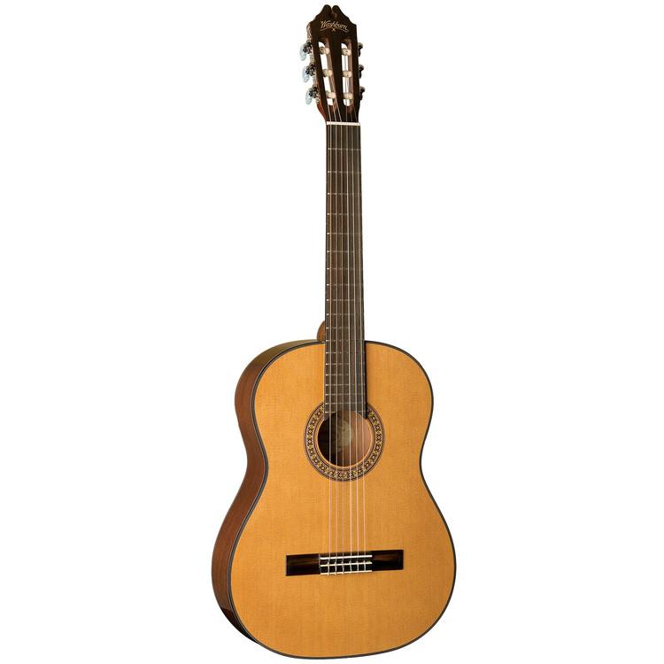Washburn C40 Classical Series Nylon String Classical Acoustic Guitar, Natural (C40)