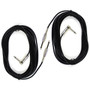 ZoZo 20ft Guitar Cable 2 PACK - 20ft Guitar, Bass, Instrument Cable, ZZ203-2PK