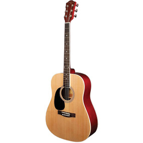 Indiana S-SCOUT-NL Scout Lefty Dreadnought Acoustic Guitar, Natural