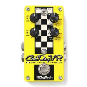 DigiTech CabDryVR Guitar & Bass Dual Speaker Cabinet Simulator Pedal