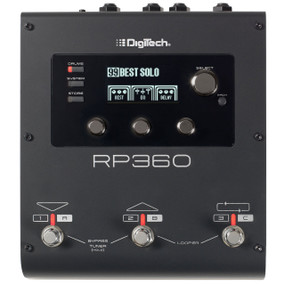 DigiTech RP360 Guitar Multi Effects FX Processor Pedal with USB Streaming
