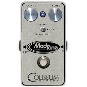 ModTone MT-CRV Silver Sparkle Coliseum Reverb Effects Pedal