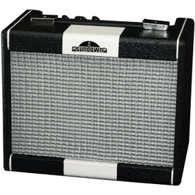 Sundown Lowrider 15-Watt Bass Guitar Combo Amplifier, SD-15B