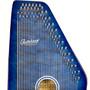 Oscar Schmidt OS21CQ 21 Chord Classic Autoharp, Quilted Transparent Blue