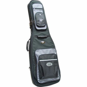 Profile 906 Series PRBB906 Bass Guitar Gig Bag, Black and Grey