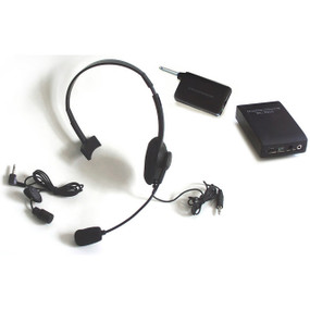 Pignose Wireless Headset and Lavalier Microphone Combo Pack, PG-COMBO