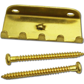 Floyd Rose Brass Tremolo Tension Spring Claw with Screws, FRTCBRASS