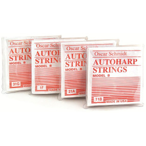 Oscar Schmidt Model B Ball End Autoharp Strings - Set of 36 (OS-ASB)