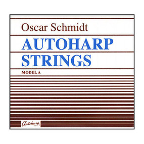 Oscar Schmidt Model A Loop End Autoharp Strings - Set of 36, ASA