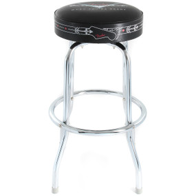 "Fender 24"" Custom Shop Pinstripe Bar Stool, 099-0230-020"