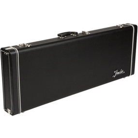 Fender 099-6180-320 Pro Series Strat/Tele Hardshell Electric Guitar Case, Black