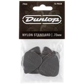 Dunlop 44P.73 Nylon Standard .73mm Guitar Picks, 12-Pack