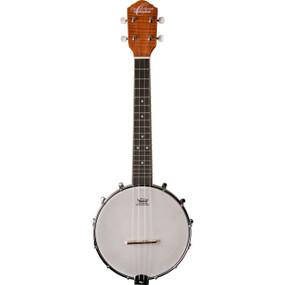 Oscar Schmidt OUB1 Banjolele 4-String Concert Banjo Ukulele, Satin Natural